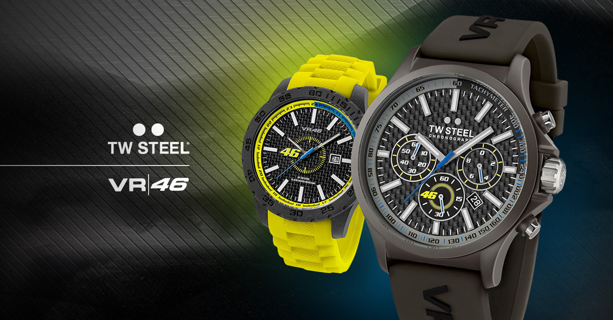 3. Valentino Rossi TW Steel ročne ure
