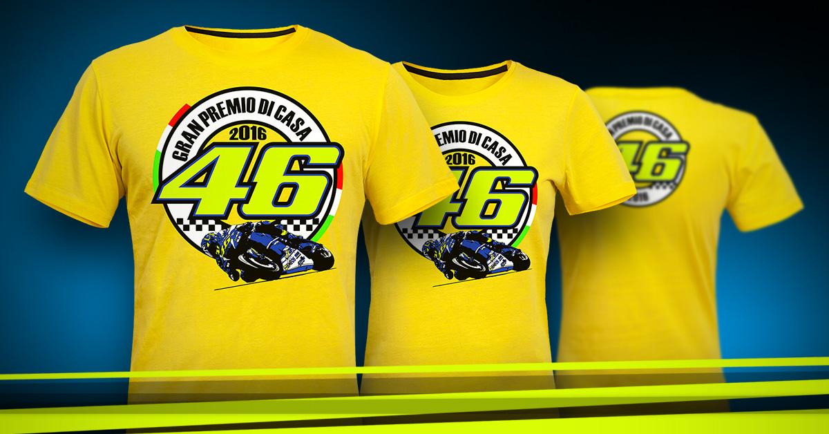 Valentino Rossi VR46 2016 Misano GP majica