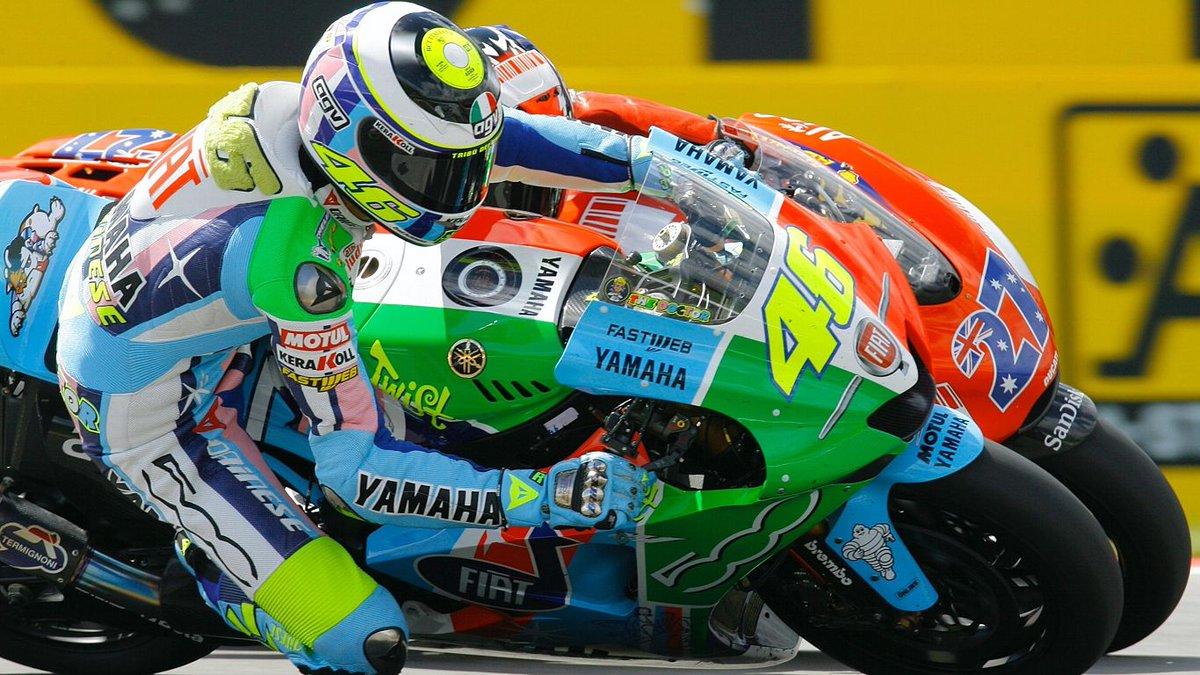 Valentino Rossi auf der Jagd nach seinem zehnten Titel 8. Teil