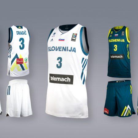 Slovenska košarkarska reprezentanca, odslej v novi podobi!