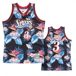 Retro 97 98 Allen Iverson #3 Philadelphia 76ers Basketball Trikots Stitched