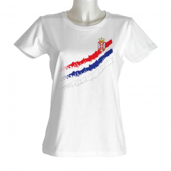 Srbija ženska majica