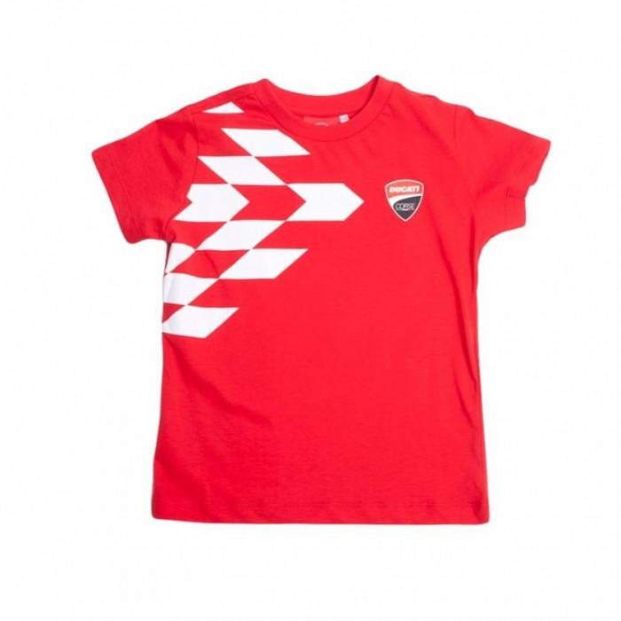 Ducati Grid Print Kinder T-Shirt