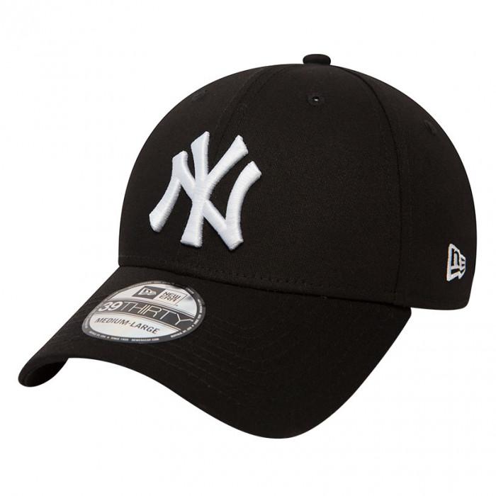 New York Yankees New Era 39THIRTY League Essential kapa Black