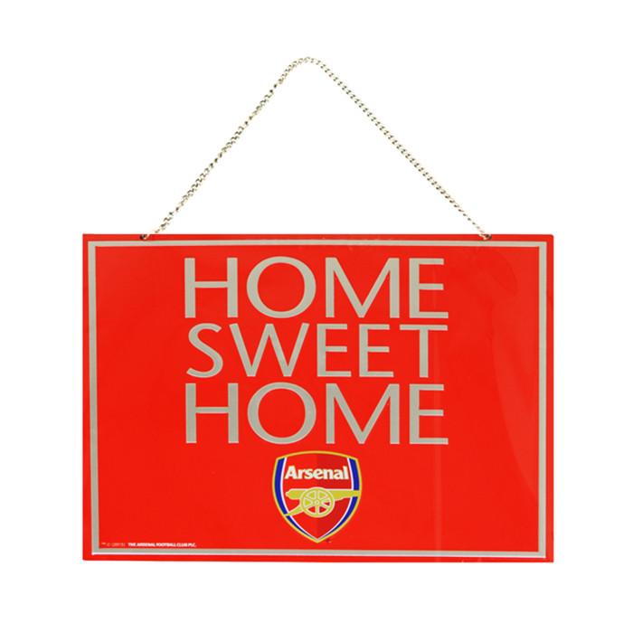 Arsenal Home Sweet Home Schild