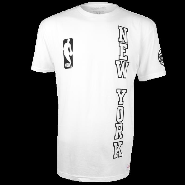 New York Knicks Mitchell & Ness Downcourt Long T-Shirt