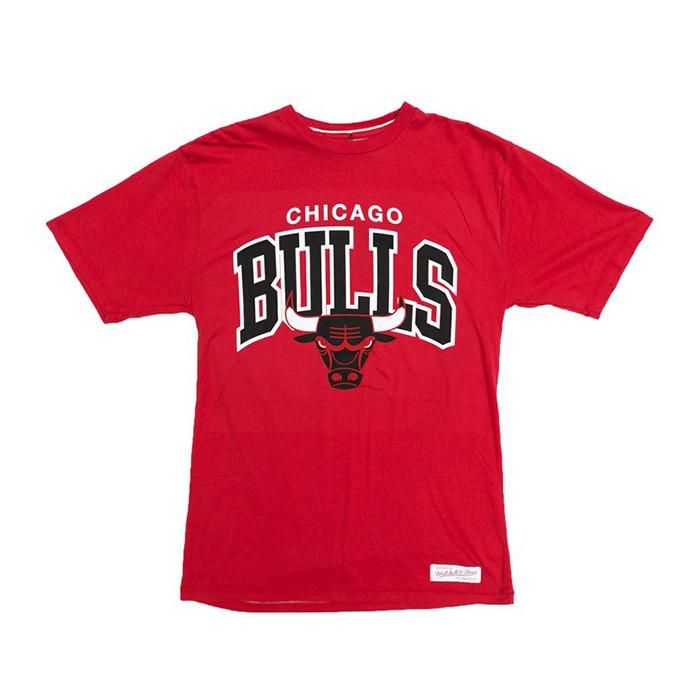 Chicago Bulls Mitchell & Ness Team Arch T-Shirt