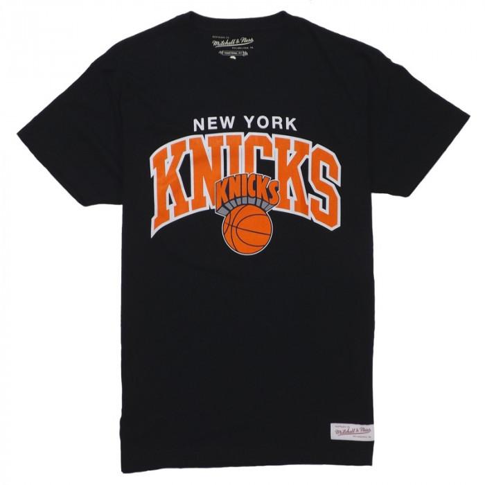New York Knicks Mitchell & Ness Team Arch majica