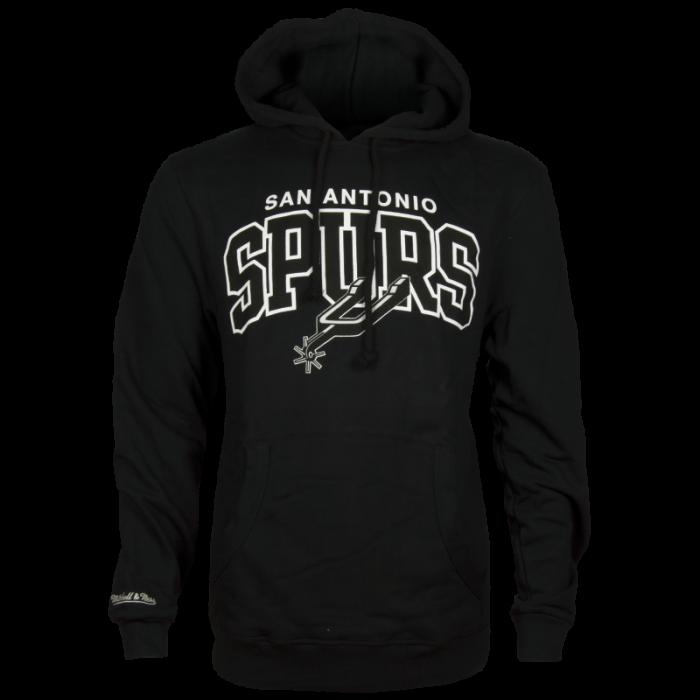 San Antonio Spurs Mitchell & Ness Team Arch Kapuzenjacke Hoody