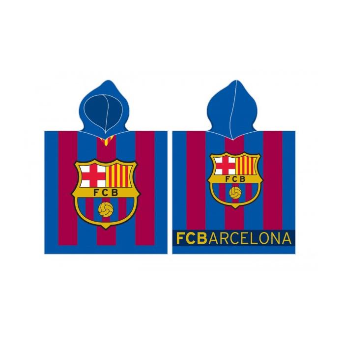 FC Barcelona Poncho Badetuch 120x60