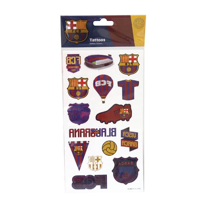 FC Barcelona 15x Tattoo