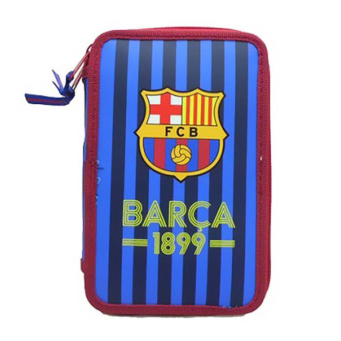 FC Barcelona Federtasche gefüllt, 23-teilig