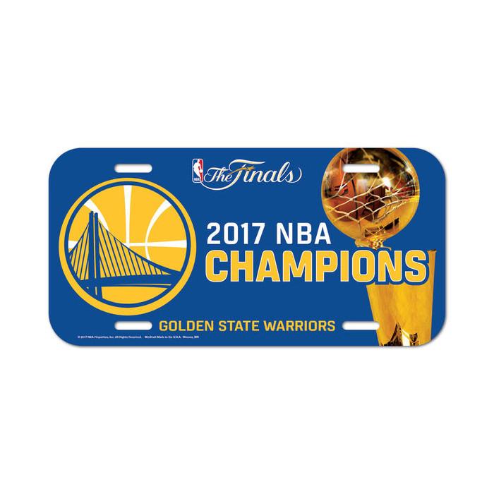 Golden State Warriors Schild 2017 NBA Champions