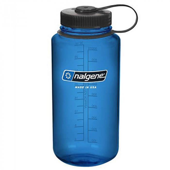 Nalgene Trinkflasche weithals, 1000 ml (2178-2024 blau)