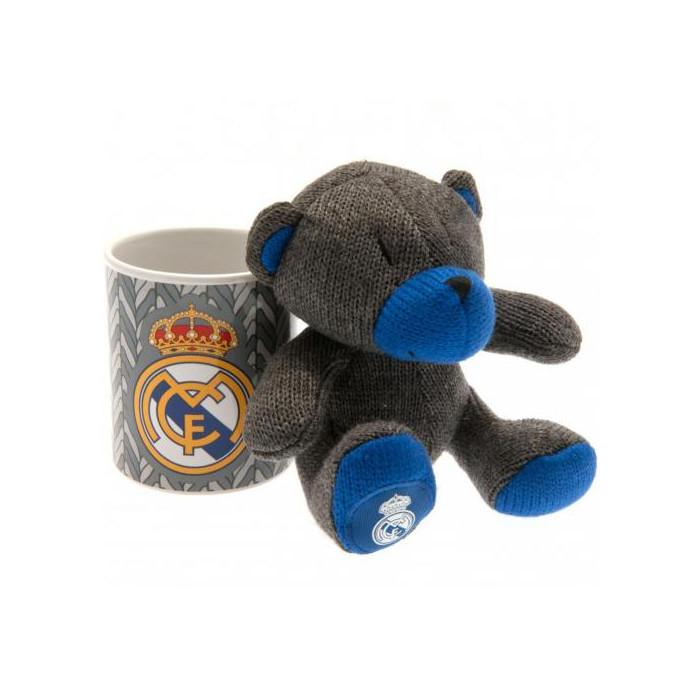 Real Madrid Set Tasse und Teddy