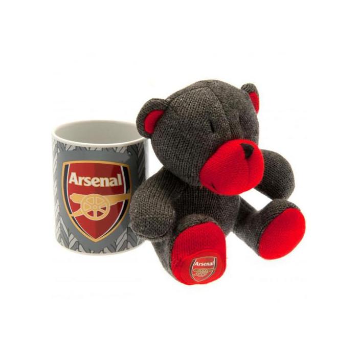 Arsenal Set Tasse und Teddy