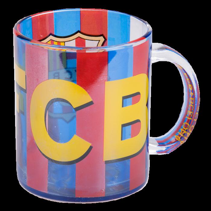 FC Barcelona staklena šalica