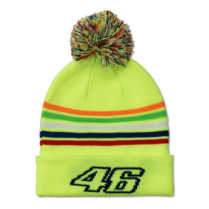 Valentino Rossi VR46 Stripes Kinder Wintermütze (VRKBE307828)