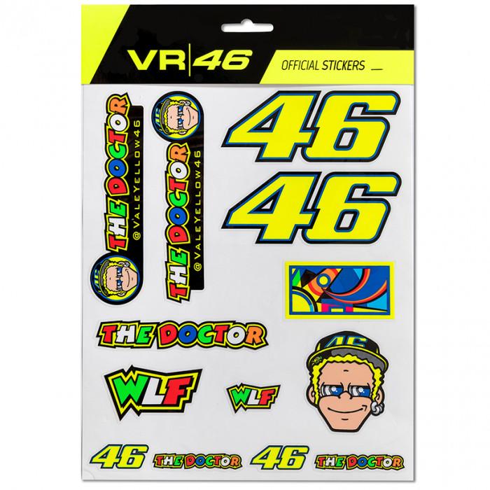 Valentino Rossi VR46 Aufkleber (VRUST312603)
