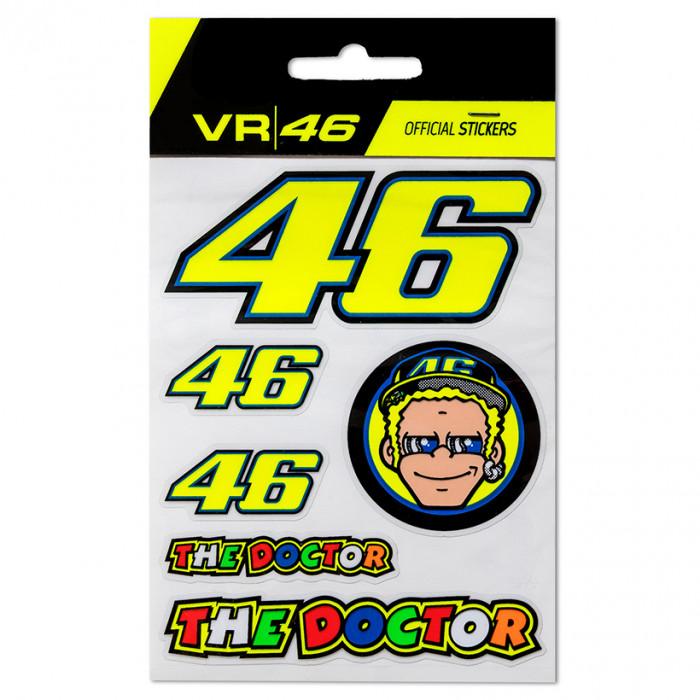 Valentino Rossi VR46 naljepnice (VRUST312703)