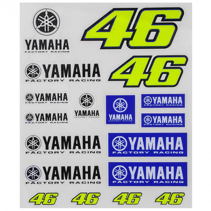 Valentino Rossi VR46 Yamaha Aufkleber (YDUST273503)