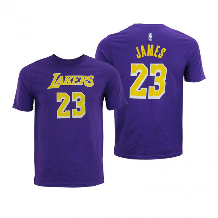LeBron James 23 Los Angeles Lakers Youth T-Shirt