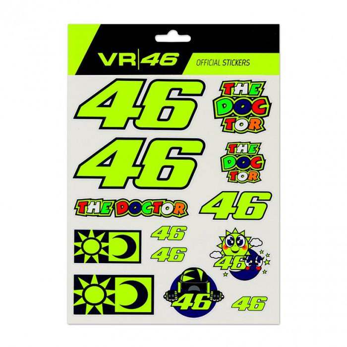 Valentino Rossi VR46 Big set naljepnica