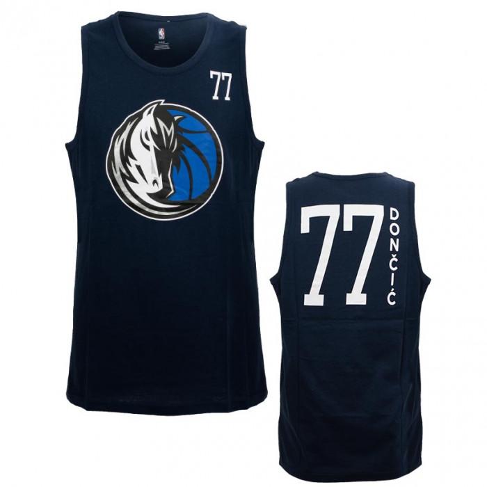Luka Dončić 77 Dallas Mavericks All Net Basic Tank Top majica