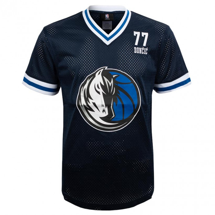Luka Dončić 77 Dallas Mavericks Play Maker Fashion Top Mesh majica