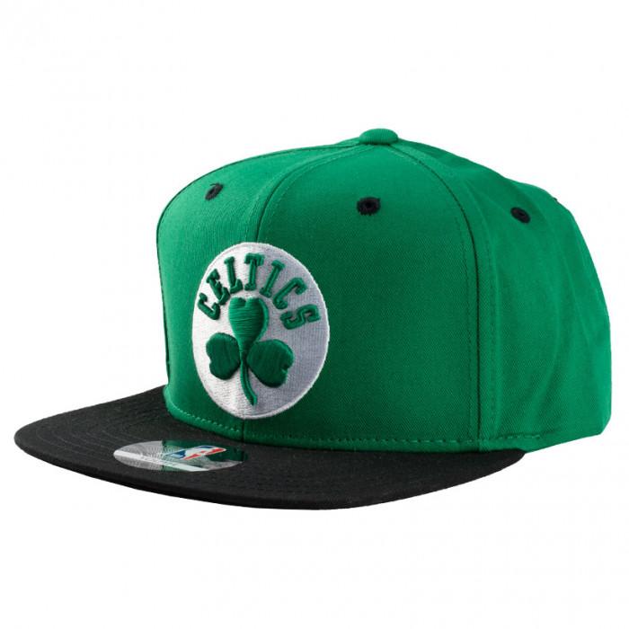 Boston Celtics 2-Tone Flat Visor Youth kapa