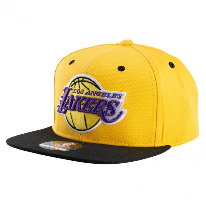 Los Angeles Lakers 2-Tone Flat Visor Youth kapa