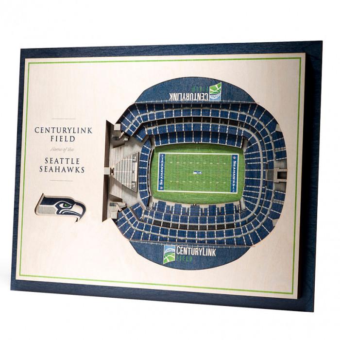 Seattle Seahawks 3D Stadium View slika