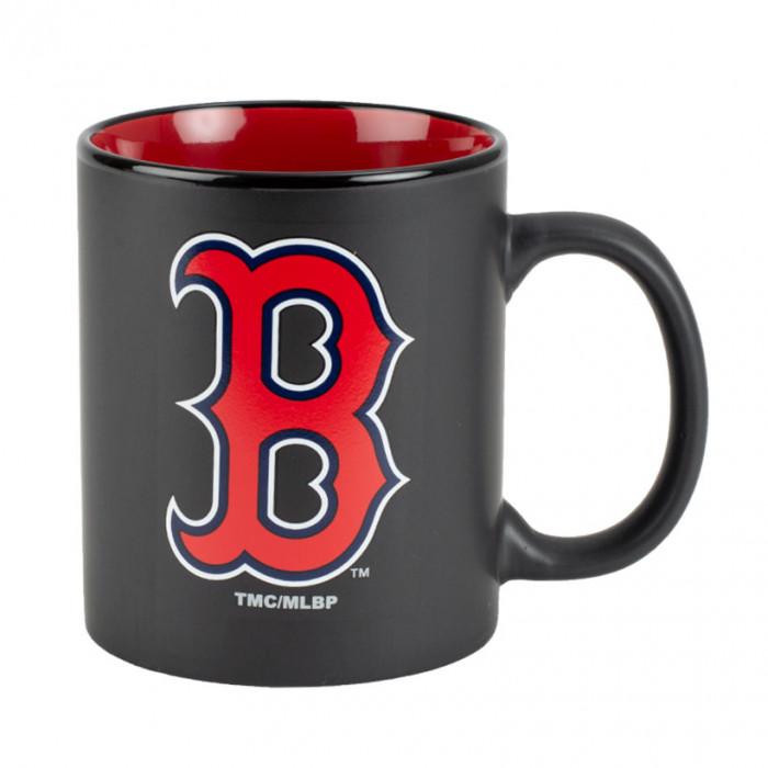 Boston Red Soxs Black Matte Two Tone skodelica