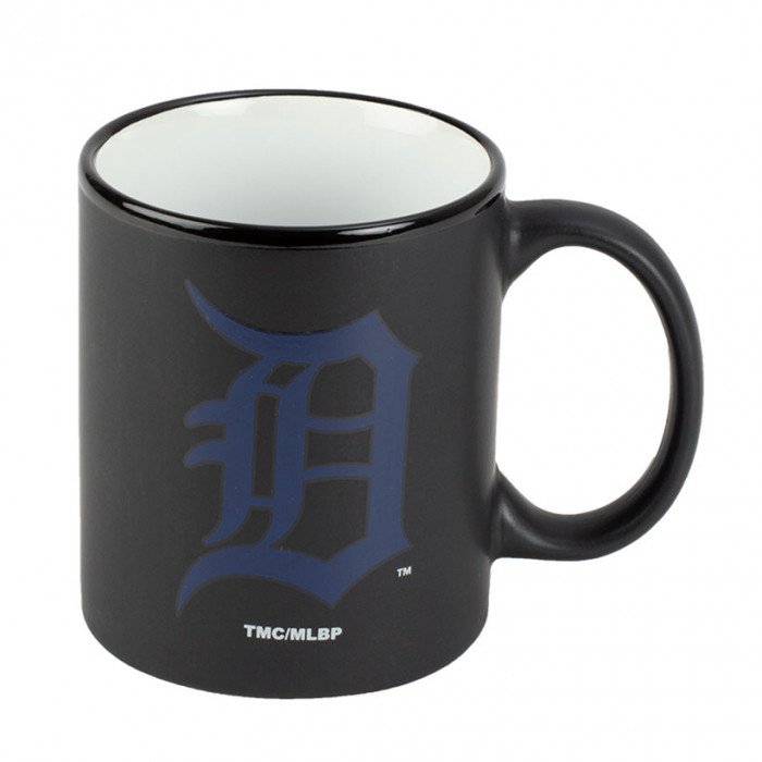 Detroit Tigers Black Matte Two Tone skodelica