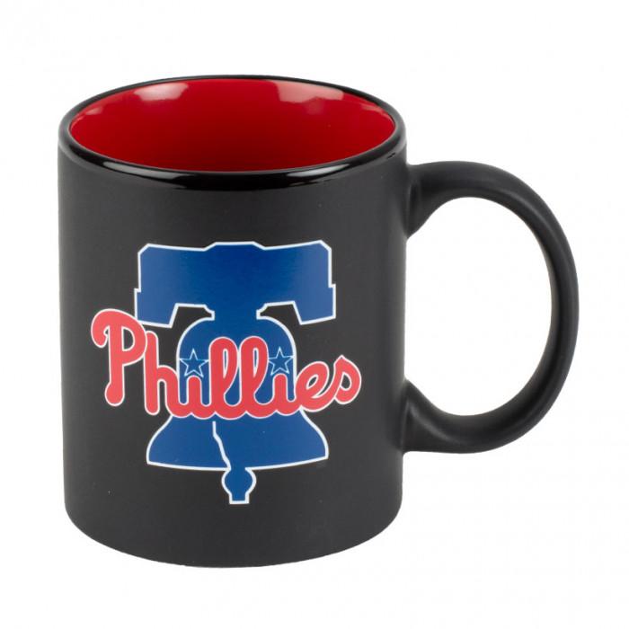 Philadelphia Phillies Black Matte Two Tone skodelica