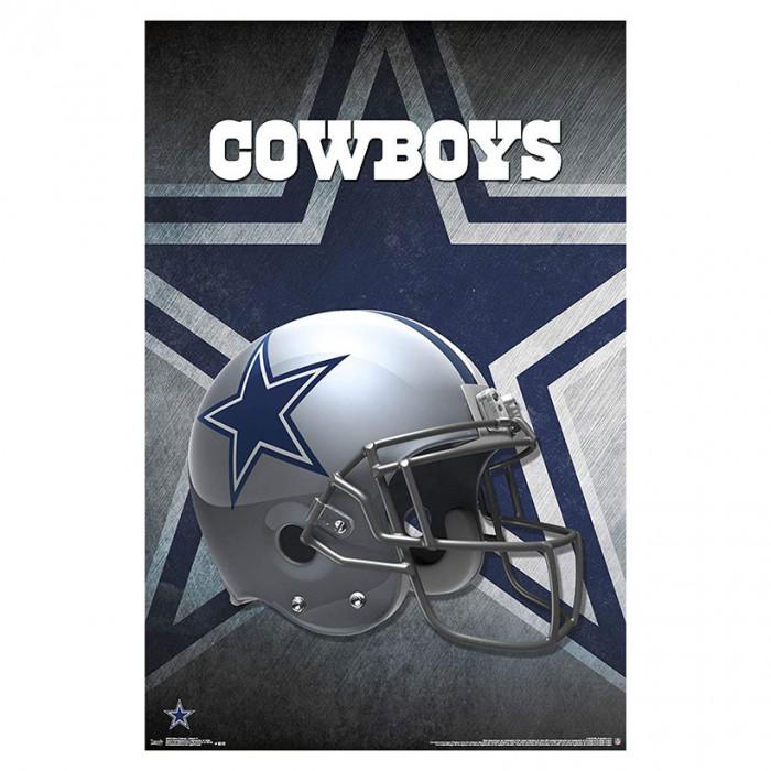 Dallas Cowboys Team Helmet poster