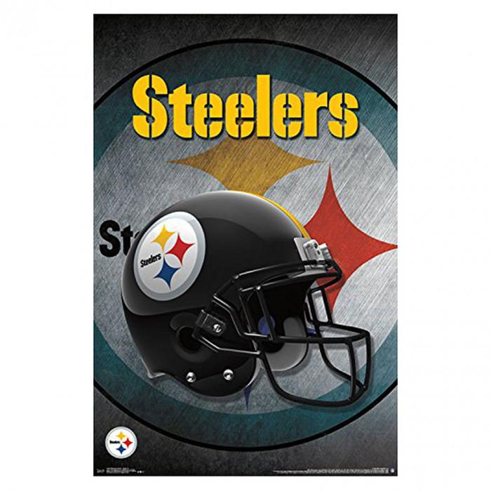 Pittsburgh Steelers Team Helmet poster