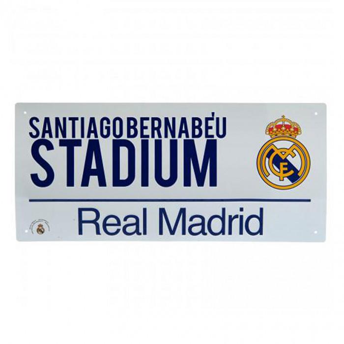 Real Madrid Street Schild