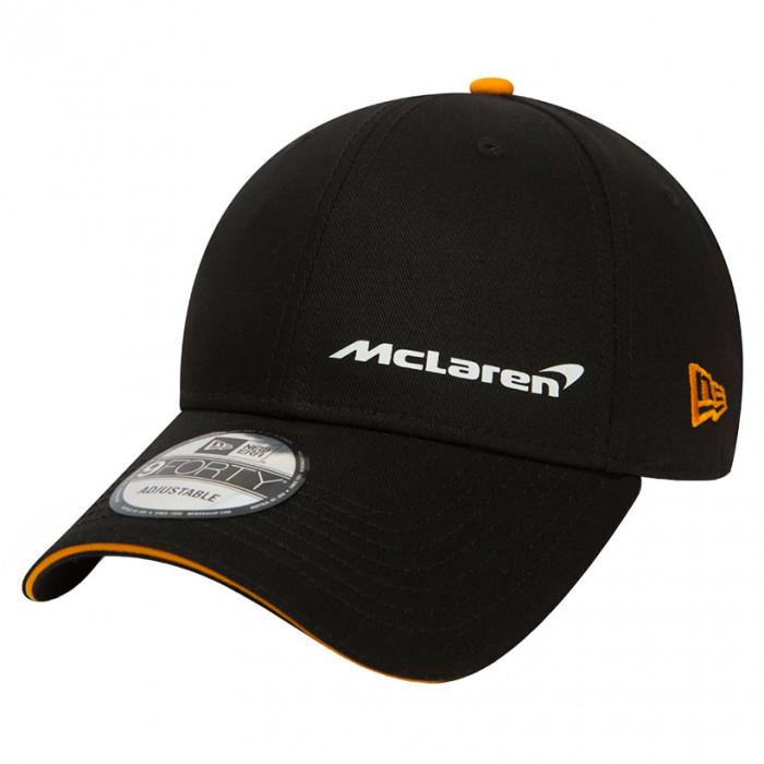 McLaren New Era 9FORTY Essential Black Mütze