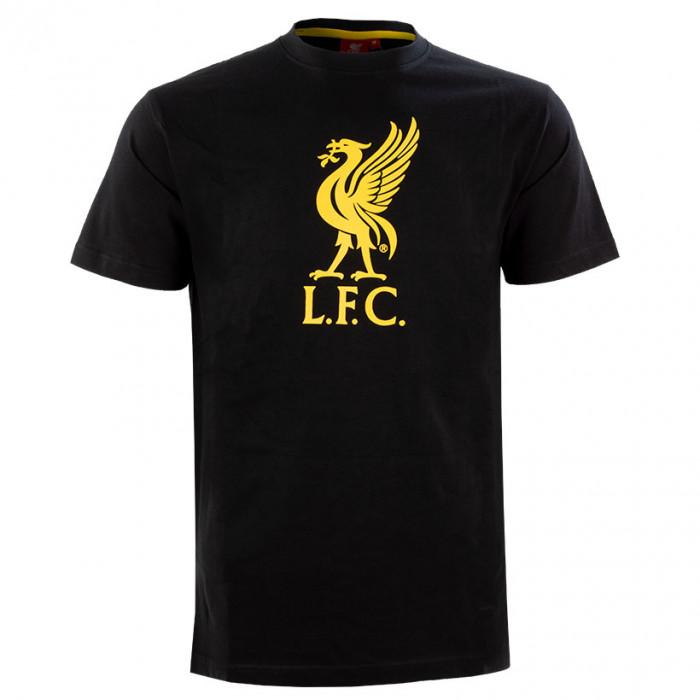 Liverpool Graphic Black T-Shirt