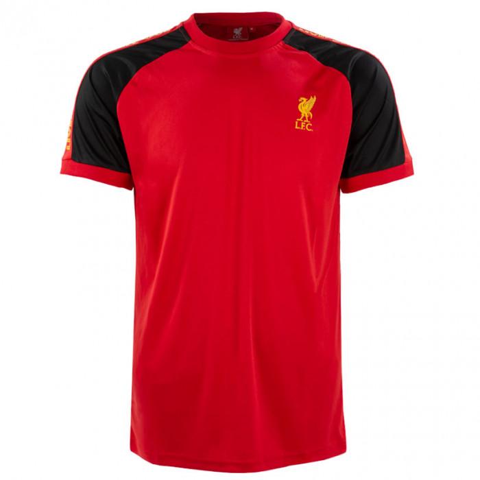 Liverpool Panel Detail Poly Training T-Shirt