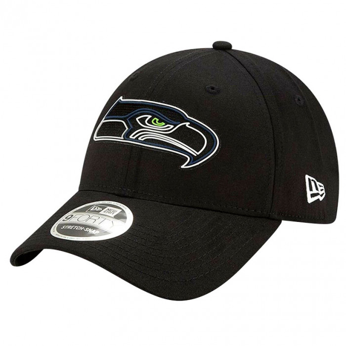 Seattle Seahawks New Era 9FORTY Draft Official Stretch Snap Mütze