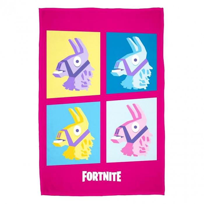 Fortnite Lama Decke 100x150