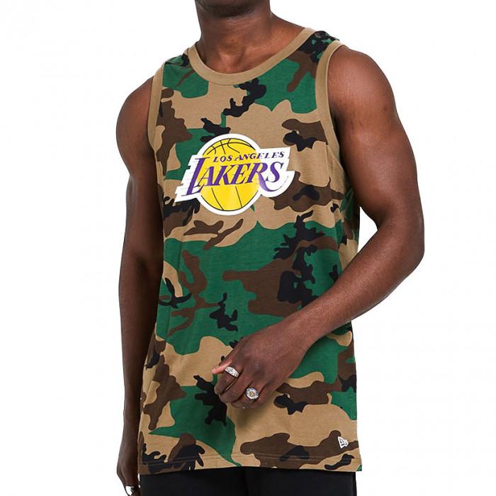 Los Angeles Lakers New Era Camo Tank majica