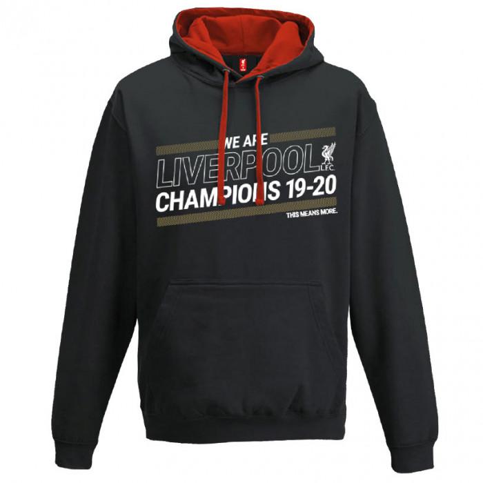 Liverpool Champions 19-20 pulover sa kapuljačom