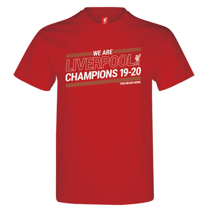 Liverpool Champions 19-20 Red T-Shirt