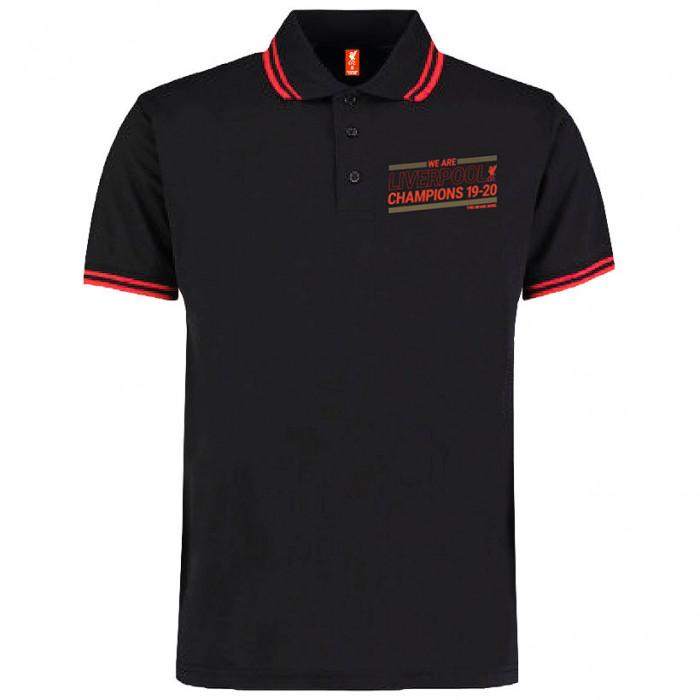 Liverpool Champions 19-20 Polo T-Shirt