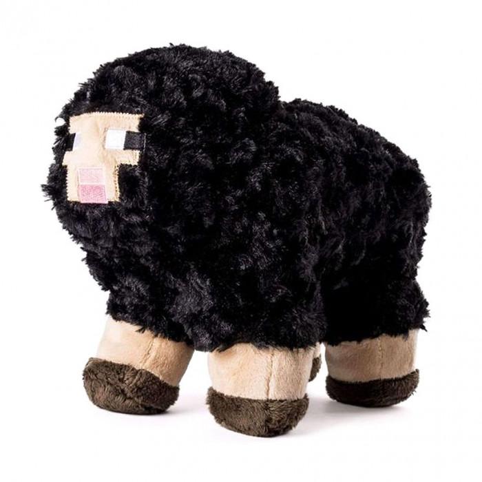 Minecraft Jinx Black Sheep mekana igračka 10