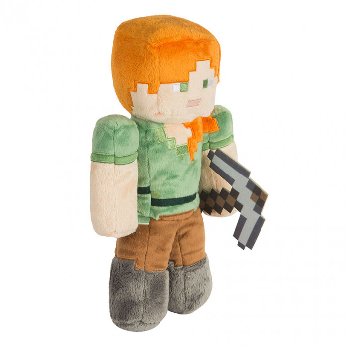 Minecraft Jinx Alex mekana igračka 12