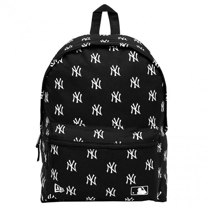 New York Yankees New Era Entry AOP Print Black Ruksak